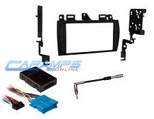 cadillac deville radio cadillac double 2 din car stereo radio dash installation kit w wiring harness fits