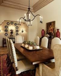 ann james interiors interiors terranean dining room love the white upholstered chairs with the dark rustic brown table