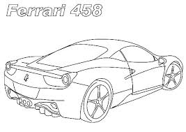 Ferrari Colouring Pages Printable Coloring Pages Download Free