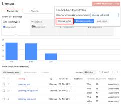 testing and submitting a video xml sitemap through the google search console