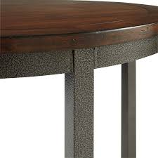 30 inch round pedestal table unique home styles 5411 30 cabin creek round dining table tables