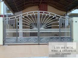 metal fence designs. Plain Fence Steel Gate Design Photo  3 For Metal Fence Designs