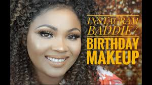 insram bad birthday makeup using jaclyn hill x morphe