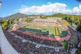App State Announces Football Home Game ...
