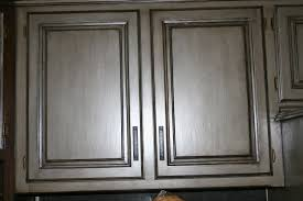 Double Glazed Kitchen Doors Gray Kitchen Cabinets With Black Glaze Quicuacom