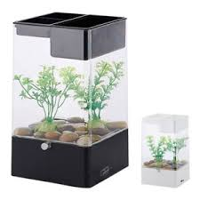 office desk aquarium. Image Is Loading LED-Light-Square-USB-Interface-Aquarium-Ecological-Office- Office Desk Aquarium 0