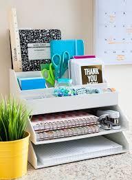 cool desk organizer ideas. Contemporary Ideas Simple Layered White Desk Organizer For Cool Desk Organizer Ideas
