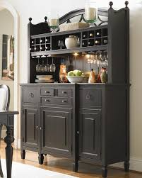 Kitchen Buffet Furniture Summer Hill 2 Pc Serving Buffet And Bar Hutch With Wine Storage