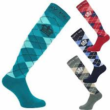 Socks <b>12 Pairs Ladies</b> knee High Horse Riding <b>Cotton</b> Rich Socks ...