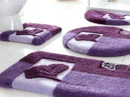 lilac bath rugs purple bathroom set with round bath rug lilac bath rug set