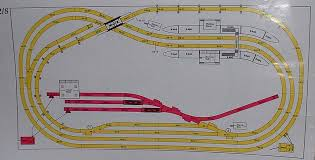 any ideas for a layout page 3 all model railroading community here s a continuous track plan from a old hornby track plans book that is a single track line which is a 8x4 plan but can be made bigger Ã' cuttings