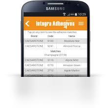 The Integra App Integra Adhesives