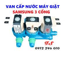 Van cấp nước máy giặt samsung 3 cổng [FREESHIP] Van điện từ máy giặt  Samsung 3 cổng tốt giá rẻ