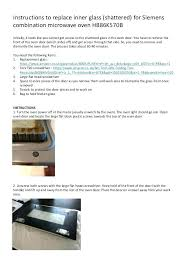 ge oven door removal replace oven glass door instructions to replace inner glass shattered for combination