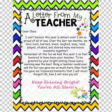 A Letter To My Teacher Teacherspayteachers Student Classroom