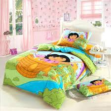 dora twin bedding set the explorer children bedding set twin size pure cotton printed fabric bed