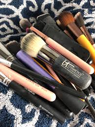 this is just one of the ways you can make your own makeup brush cleaner i like to use the dawn because it s non toxic not harmful to your skin