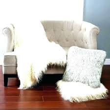 small faux fur rug double faux sheepskin rug small fur white accent grey small pink faux