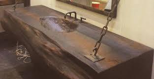 woodform concrete sink by jm lifestyle cheng concrete exchange