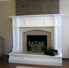 custom wood fire surround fireplace mantels los angeles made oak surrounds oxford mantel after makeover image custom wood fireplace mantels