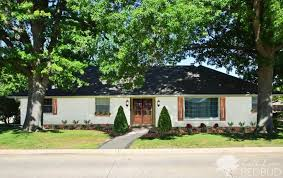 Ranch House Curb Appeal How To Enhance Exterior Of A 1980s Ranch Improve Curb Appeal On