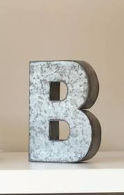 metal letters home decor 6 large metal letter zinc steel initial home room decor signs