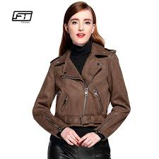 2019 fitaylor women faux suede jacket slim punk leather jacket woman bikers pink leather moto autumn outwear from vanilla15 52 31 dhgate com