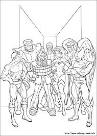 x men coloring book x men coloring pages on coloring bookfo of x men