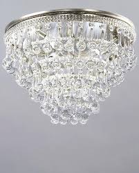 small glass chandelier clarissa glass drop small round chandelier