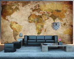 19 onwardsvintage world map wall  on map wall art reddit with vintage world map wall mural productporn