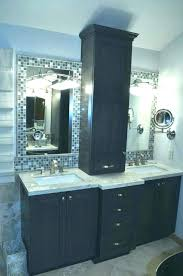 bathroom cabinet tower vanity with tower bathroom vanity tower counter storage medium size of hutch cabinets bathroom cabinet tower double vanity