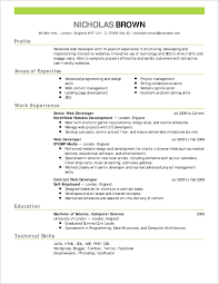 Simply Resume Format Samples Gallery Of Resume Format Inspired 21247