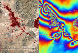 Aria Surface Displacement Maps From The 2019 Southern