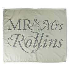 custom mr and mrs bed sheets design your own bedding personalised bed sheets uk design