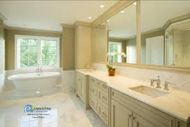 Bathrooms With White Cabinets Cabinets Of The Desert Palm Desert - Remodeled bathrooms before and after