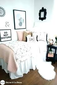 White And Gold Bed A Shabby Chic Glam Girls Bedroom Design Idea In ...