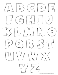 Printable Bubble Letters - Woo! Jr. Kids Activities