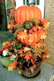 thrifty thursday diy pumpkin topiary and fall porch