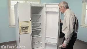 refrigerator repair replacing the shelf support stud whirlpool part 2149540