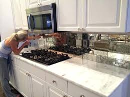 diy glass tile backsplash best mirror tiles ideas on antique mirror tiles glass tile x diy