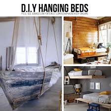 DIY Hanging beds ... Boat bed is perfect for a Seaside Themed Room