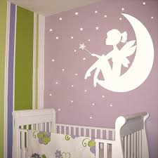 fairy little girl on the moon and stars vinyl wall decals wall sticker wall art girls on stars vinyl wall art with fairy little girl on the moon and stars vinyl wall decals wall