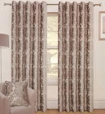 warwick natural ready made eyelet curtains
