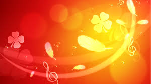 light orange backgrounds for powerpoint. Floral Light Orange Background In Backgrounds For Powerpoint