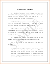 Purchase Agreement Sample Art Resume Examples