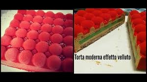 Torta Moderna Effetto Velluto Modern Cake With Velvet Spray