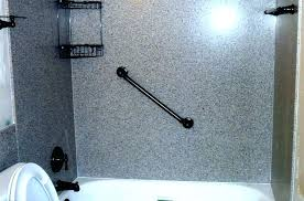 cultured marble showers seamless shower walls wonderful surround kits gallery bathtub inc ca b pan with
