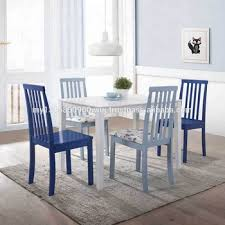 Contemporary white dining chairs Stunning Modern Made In Malaysia Home Piece White And Powder Blue Dining Set Promotion Wooden Dining Room Alibaba Made In Malaysia Home Piece White And Powder Blue Dining Set