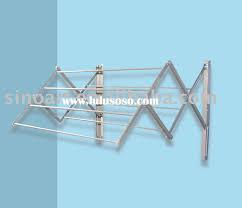wall mounted drying rack laundry drying rack wall mount retractable indoor clothesline