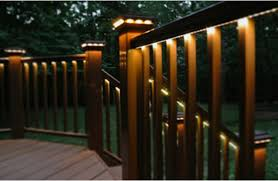 Outdoor deck lighting String Lights As Its Name Suggests Post Cap Light Is Normally Installed On Top Of Rails And Posts Compared To Other Lightings Cap Lighting Is Able To Illuminate Nikitazhilyakov Outdoor Deck Lighting Tips Torchstar